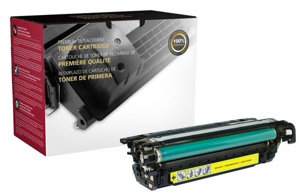 CIG Remanufactured Yellow Toner Cartridge for HP CE262A (HP 648A)