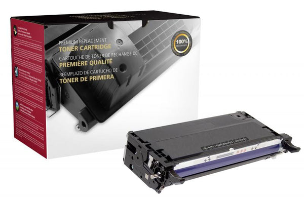 CIG Remanufactured High Yield Black Toner Cartridge for Xerox 113R00726