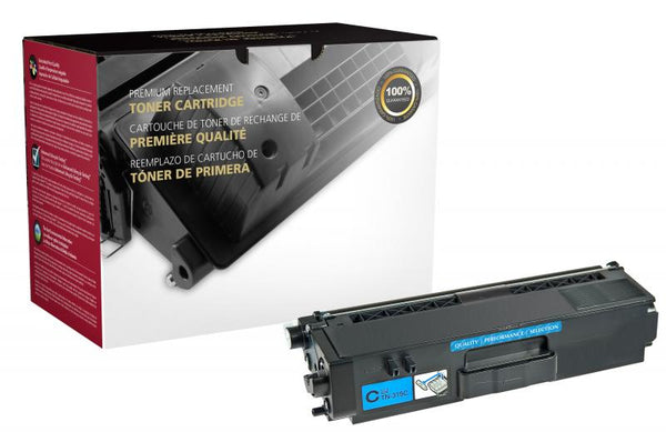 CIG Remanufactured High Yield Cyan Toner Cartridge for Brother TN315