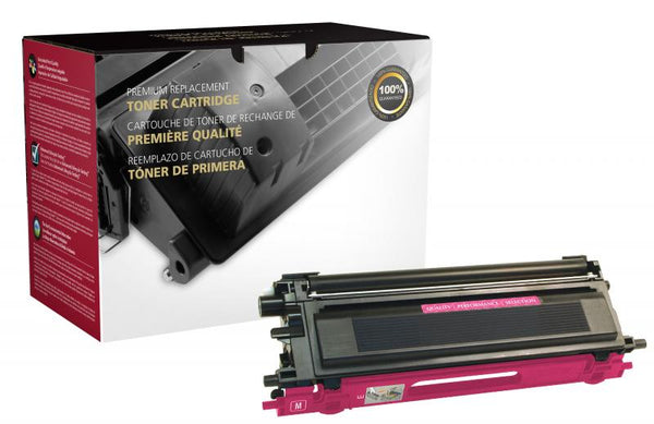 CIG Remanufactured High Yield Magenta Toner Cartridge for Brother TN115