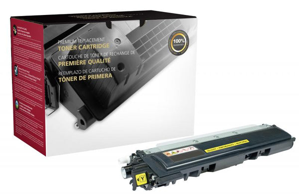 CIG Remanufactured Yellow Toner Cartridge for Brother TN210