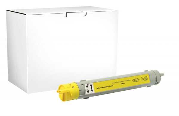 CIG Non-OEM New High Yield Yellow Toner Cartridge for OKI 42804501/42127401