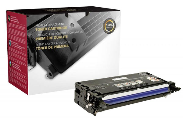 CIG Remanufactured High Yield Black Toner Cartridge for Dell 3130