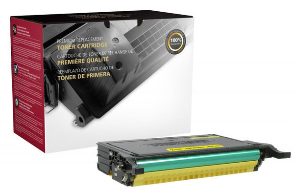 CIG Remanufactured High Yield Yellow Toner Cartridge for Dell 2145
