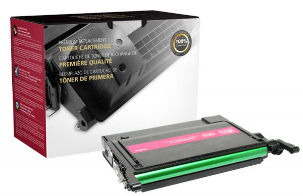 CIG Remanufactured High Yield Magenta Toner Cartridge for Samsung CLP-M660A/CLP-M660B
