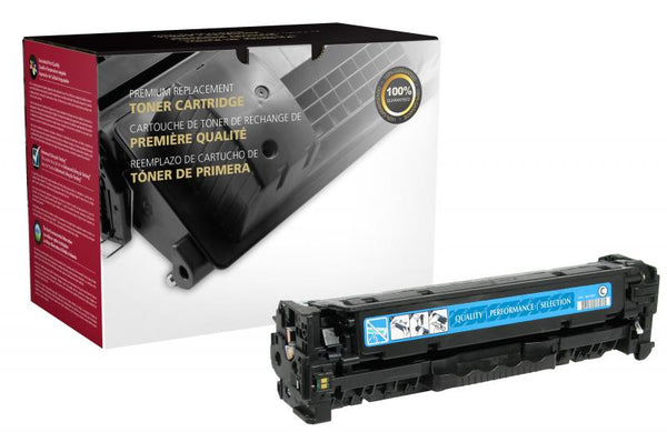 CIG Remanufactured Cyan Toner Cartridge for HP CE411A (HP 305A)