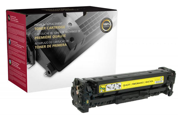 CIG Remanufactured Yellow Toner Cartridge for HP CE412A (HP 305A)