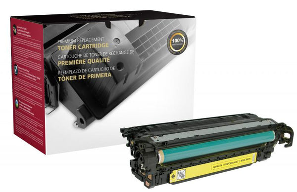 CIG Remanufactured Yellow Toner Cartridge for HP CE402A (HP 507A)