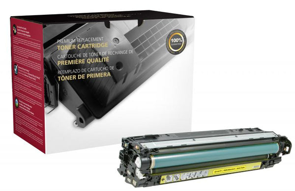CIG Remanufactured Yellow Toner Cartridge for HP CE742A (HP 307A)