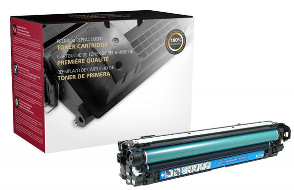 CIG Remanufactured Cyan Toner Cartridge for HP CE271A (HP 650A)