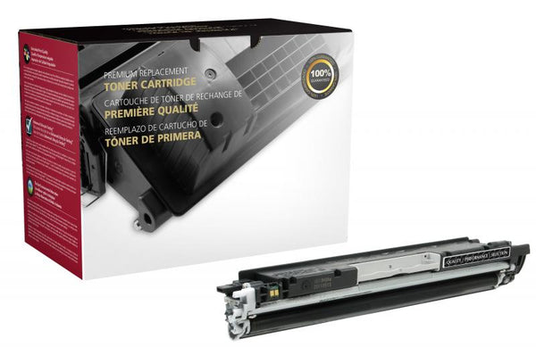 CIG Remanufactured Black Toner Cartridge for HP CE310A (HP 126A)
