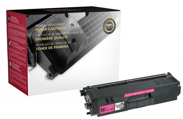 CIG Remanufactured Magenta Toner Cartridge for Brother TN310