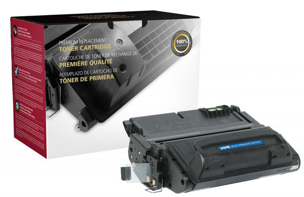 CIG Remanufactured Extended Yield Toner Cartridge for HP Q5942A (HP 42A)