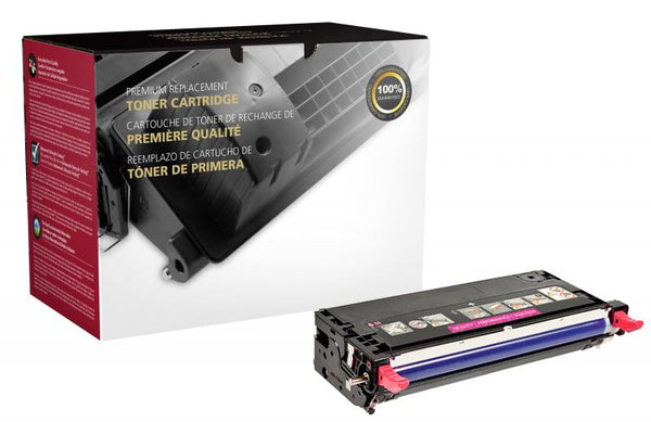 CIG Remanufactured High Yield Magenta Toner Cartridge for Xerox 106R01393/106R01389