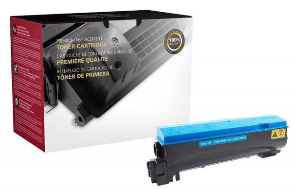 CIG Remanufactured Cyan Toner Cartridge for Kyocera TK-562