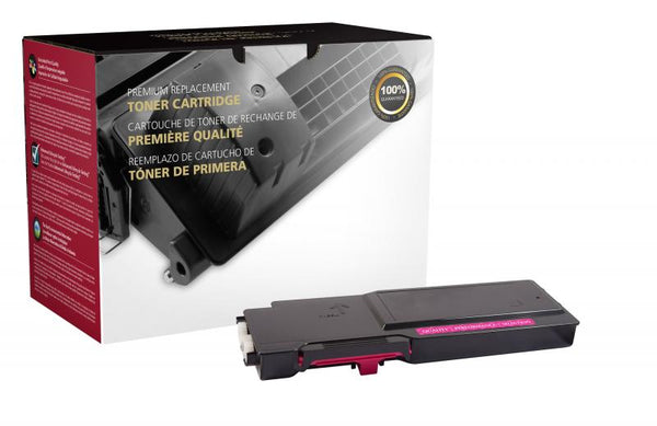 CIG Remanufactured High Yield Magenta Toner Cartridge for Dell C3760