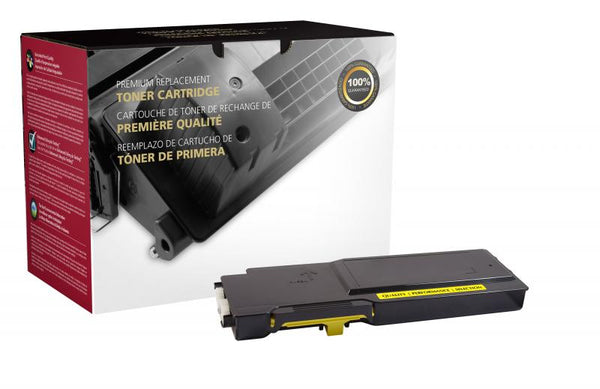 CIG Remanufactured High Yield Yellow Toner Cartridge for Dell C3760