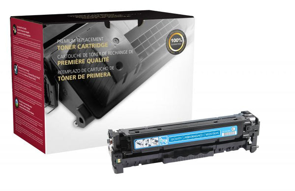 CIG Remanufactured Cyan Toner Cartridge for HP CF381A (HP 312A)