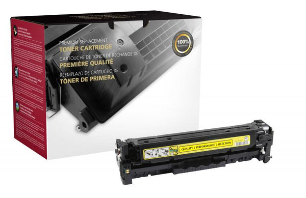 CIG Remanufactured Yellow Toner Cartridge for HP CF382A (HP 312A)