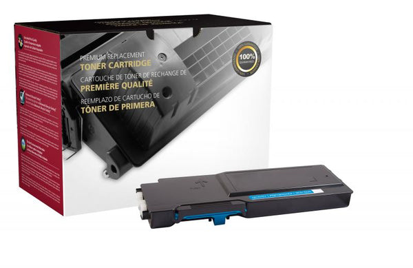 CIG Remanufactured High Yield Cyan Toner Cartridge for Dell C2660