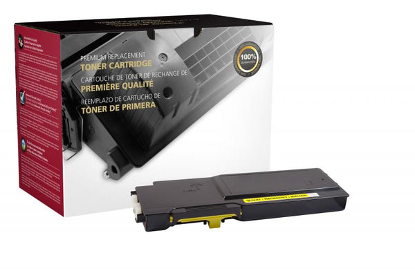 CIG Remanufactured High Yield Yellow Toner Cartridge for Dell C2660