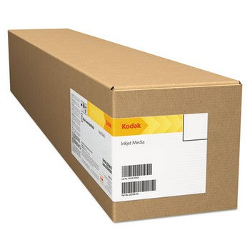 "Kodak KPRO24M Matte, 10.9 mil, 24"" x 100 ft, White Inkjet Photo Paper Roll"