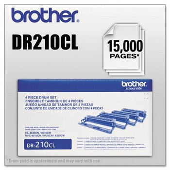 Brother DR-210CL 4 color (Black, Cyan, Magenta, Yellow) Drum