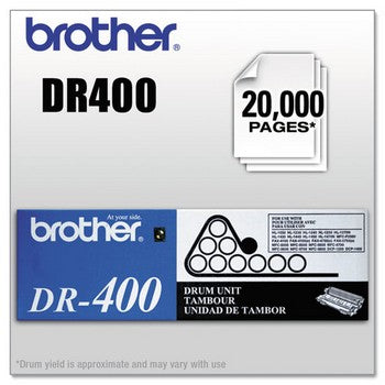 Brother DR-400 Black, Standard Yield Drum