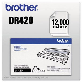 Brother DR-420 Black, Standard Yield Drum