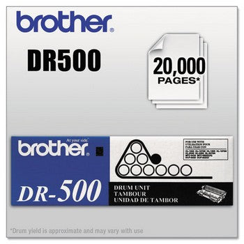 Brother DR-500 Black, Standard Yield Drum