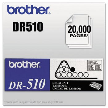 Brother DR-510 Black, Standard Yield Drum