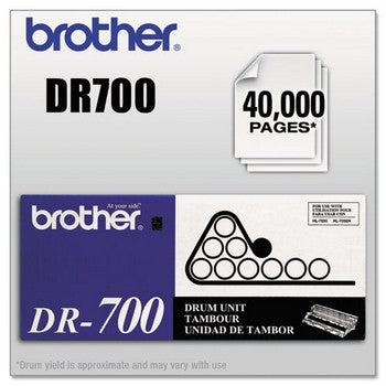 Brother DR-700 Black, Standard Yield Drum