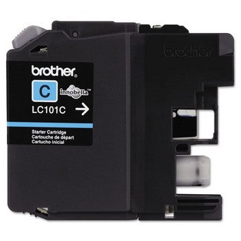 Brother LC101C Cyan, Standard Yield Ink Cartridge, Brother LC101C