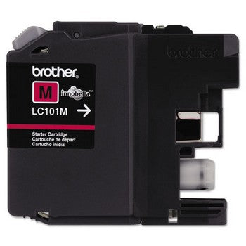 Brother LC101M Magenta, Standard Yield Ink Cartridge, Brother LC101M