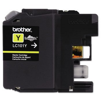 Brother LC101Y Yellow, Standard Yield Ink Cartridge, Brother LC101Y