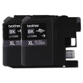 Brother LC1032PKS Black, High Yield Ink Cartridge, Brother LC1032PKS