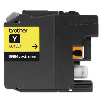 Brother LC-10EY Yellow, Super High Yield Ink Cartridge, Brother LC10EY