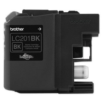 Brother LC-201BK Black, Standard Yield Ink Cartridge, Brother LC201BK