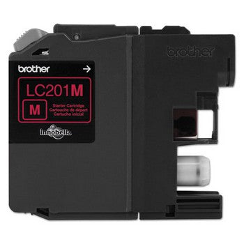 Brother LC-201M Magenta, Standard Yield Ink Cartridge, Brother LC201M