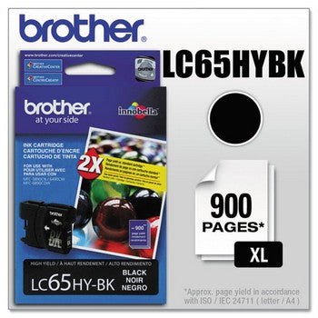 Brother LC-65BK Black, High Capacity Ink Cartridge