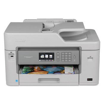 Brother Business Smart Plus MFC-J5830DW Color Inkjet All-in-One Printer Series, Brother MFCJ5830DW