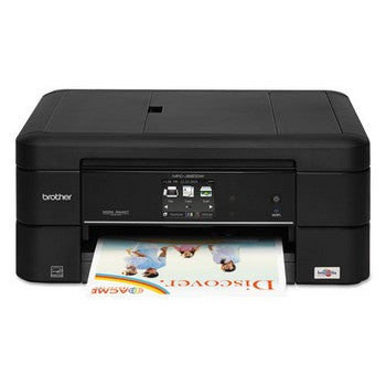 Brother Work Smart MFC-J680DW Color Wireless Inkjet All-in-One, Copy/Fax/Print/Scan, Brother MFCJ680DW