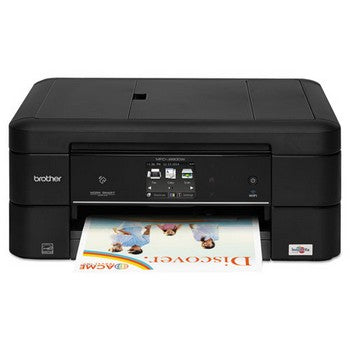 Brother Work Smart MFC-J880DW Compact Wi-Fi Color Inkjet All-in-One, Copy/Fax/Print/Scan, Brother MFCJ880DW