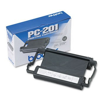 Brother PC-201 Black Thermal Ribbon