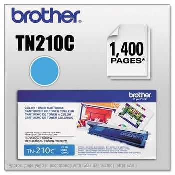 Brother TN-210C Cyan Toner Cartridge