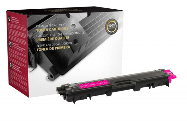CIG Remanufactured High Yield Magenta Toner Cartridge for Brother TN225