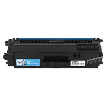 Brother TN-331C Cyan, Standard Yield Toner Cartridge, Brother TN331C