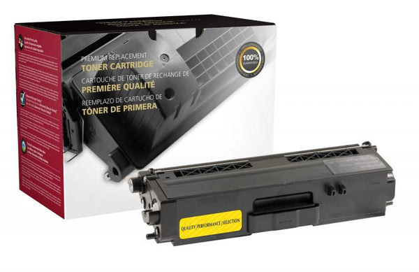 CIG Remanufactured Brother TN331 Yellow Toner Cartridge