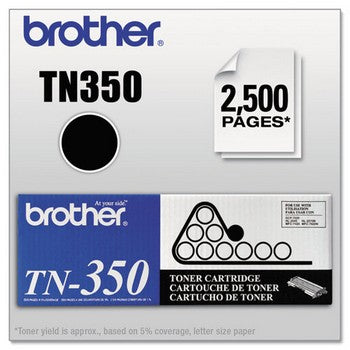 OEM/Original Brother TN-350 Toner Cartridge, Black | Databazaar