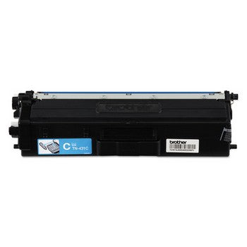 Brother TN431 Cyan, Standard Yield Toner Cartridge, Brother TN431C